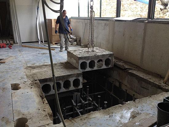 Tecnodiamante service srl demolizioni taglio cemento - Apertura solaio per scala interna ...